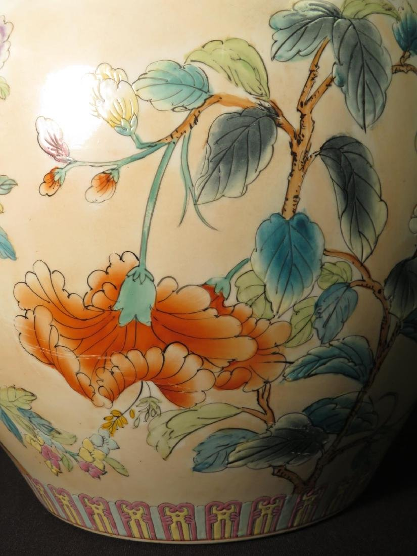 ASIAN FISHBOWL PLANTER IN THE FAMILLE ROSE STYLE - 7