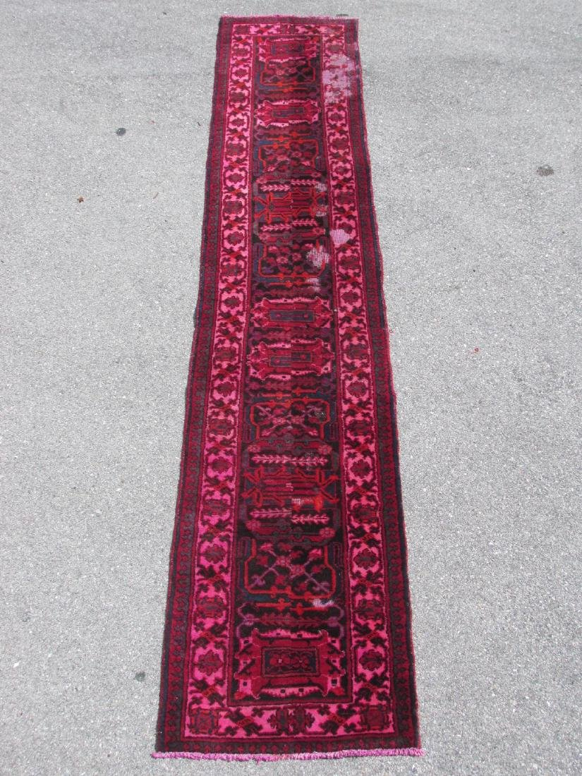"""HAND KNOTTED PERSIAN WOOL RUNNER - 2'3"""" x 10'8"""""""