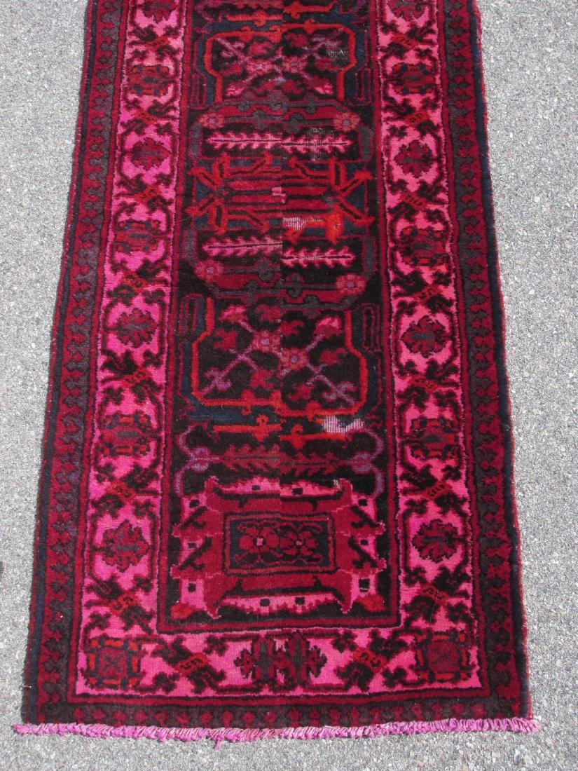 """HAND KNOTTED PERSIAN WOOL RUNNER - 2'3"""" x 10'8"""" - 2"""