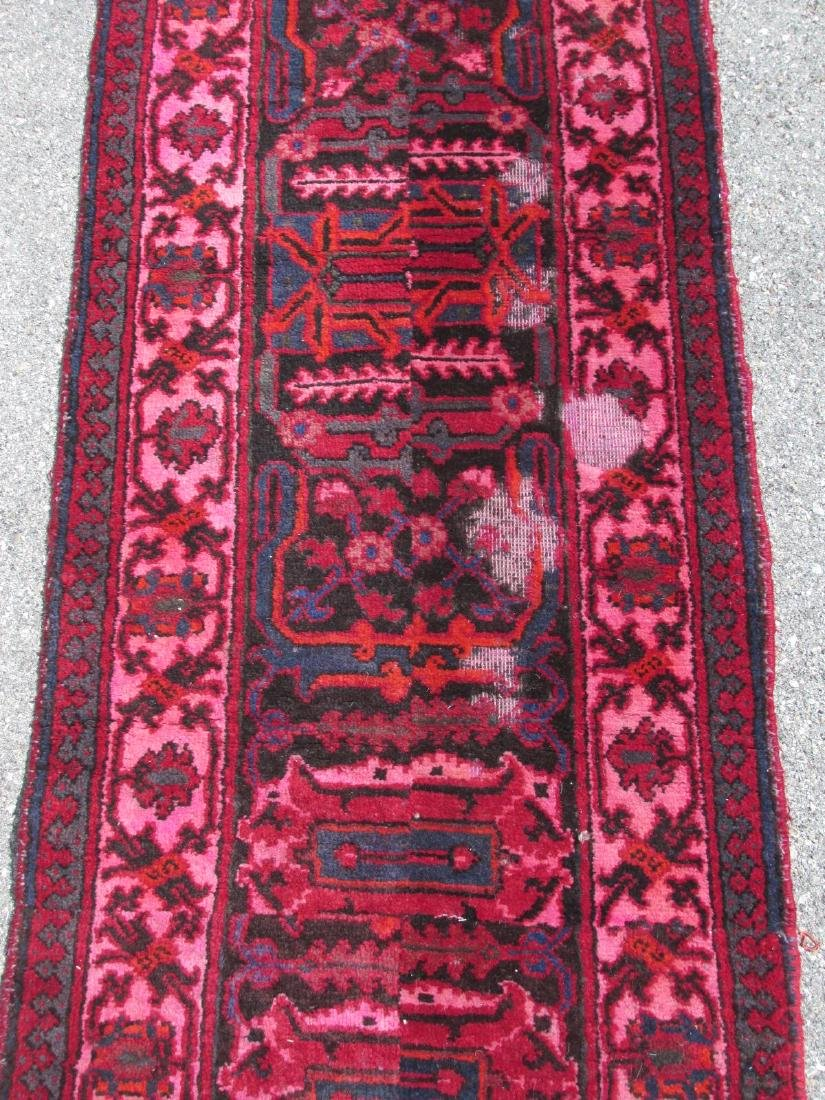 """HAND KNOTTED PERSIAN WOOL RUNNER - 2'3"""" x 10'8"""" - 3"""