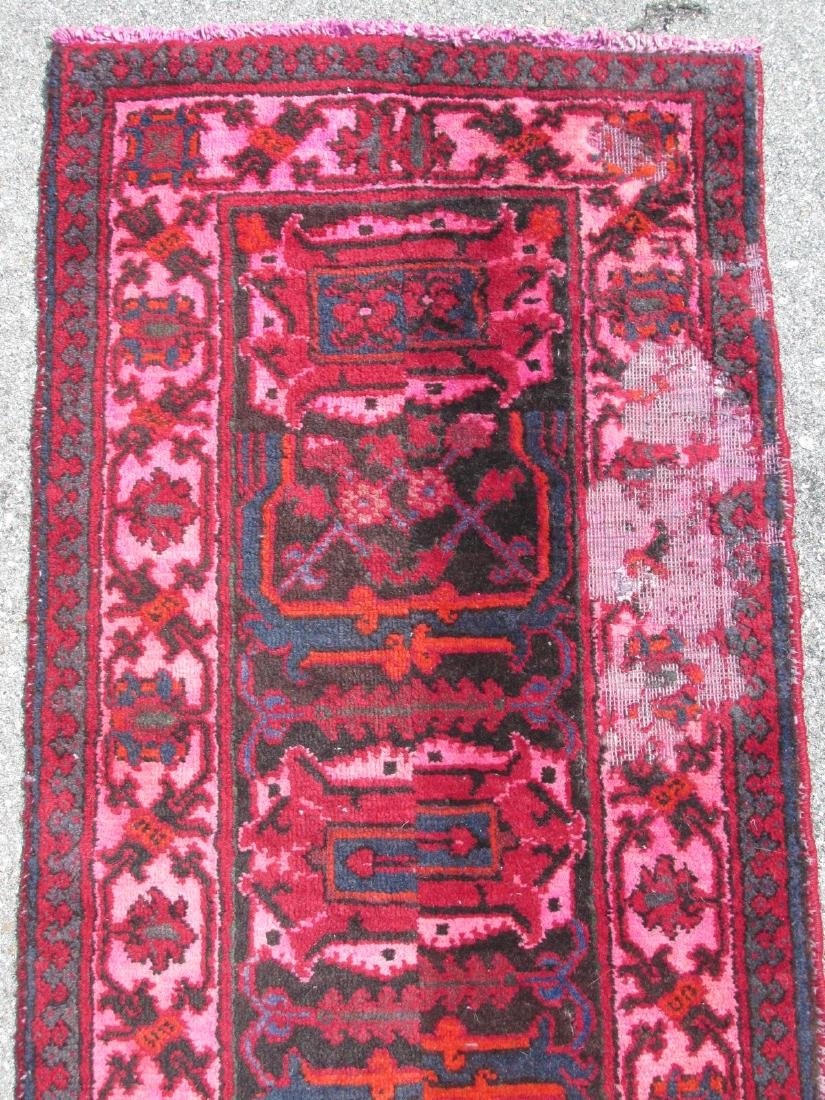 """HAND KNOTTED PERSIAN WOOL RUNNER - 2'3"""" x 10'8"""" - 4"""