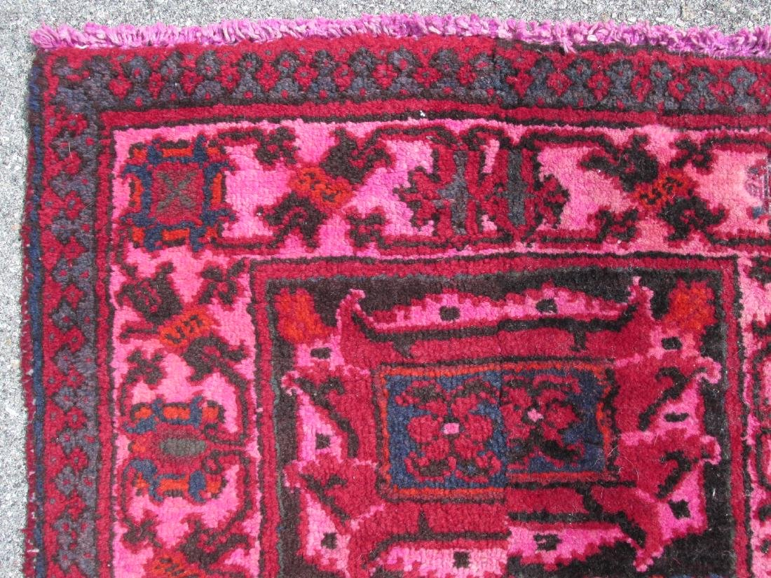 """HAND KNOTTED PERSIAN WOOL RUNNER - 2'3"""" x 10'8"""" - 7"""