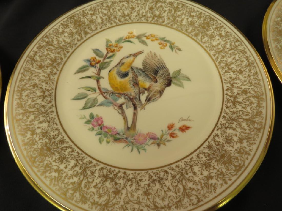"LENOX ANNUAL BOEHM BIRD PLATES - 11"" - 3"