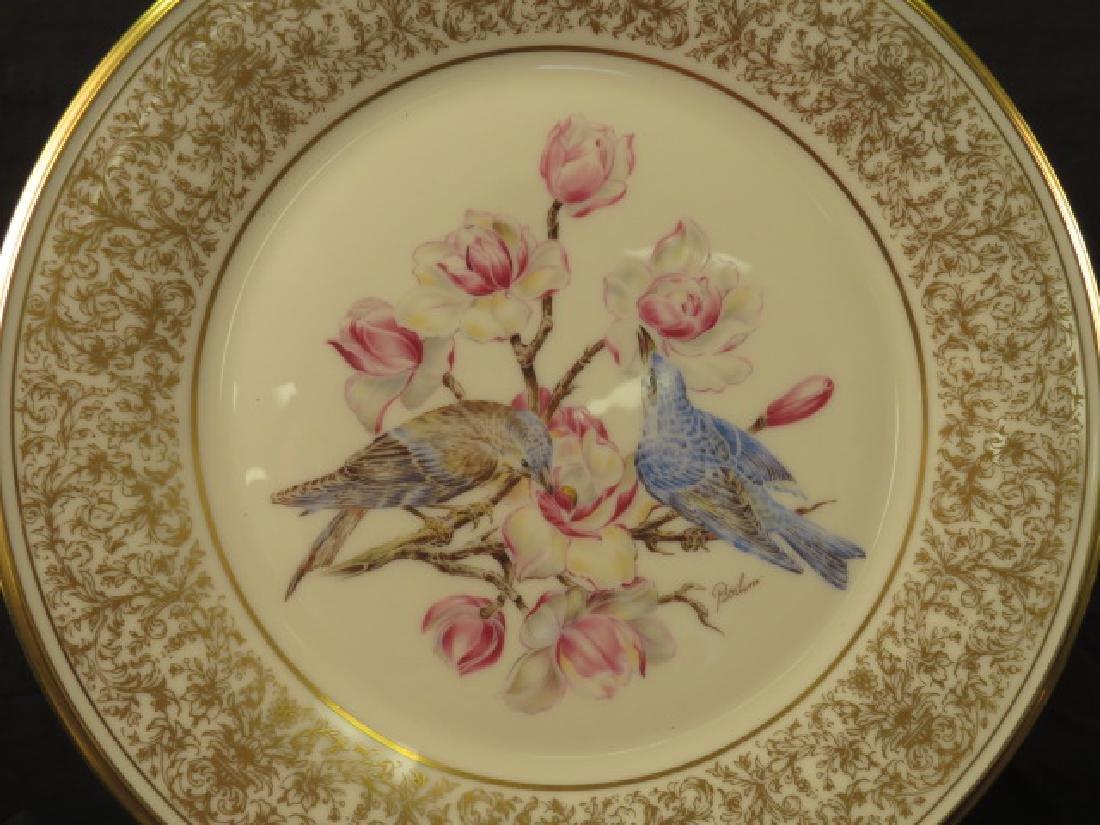 "LENOX ANNUAL BOEHM BIRD PLATES - 11"" - 7"
