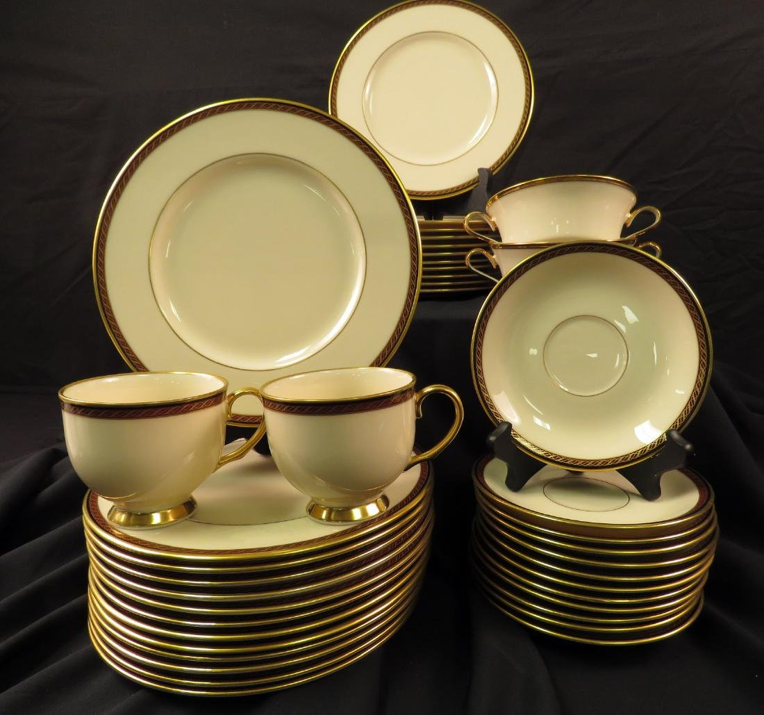 LENOX FINE CHINA PARTIAL SET: MONROE