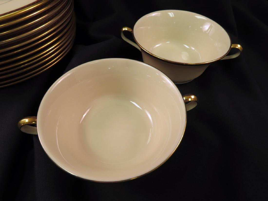 LENOX FINE CHINA PARTIAL SET: MONROE - 5