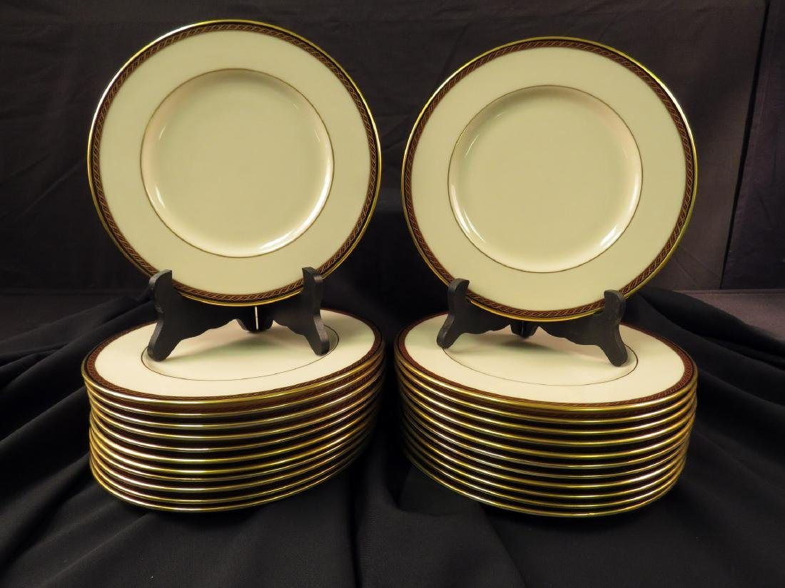 LENOX FINE CHINA PARTIAL SET: MONROE - 6