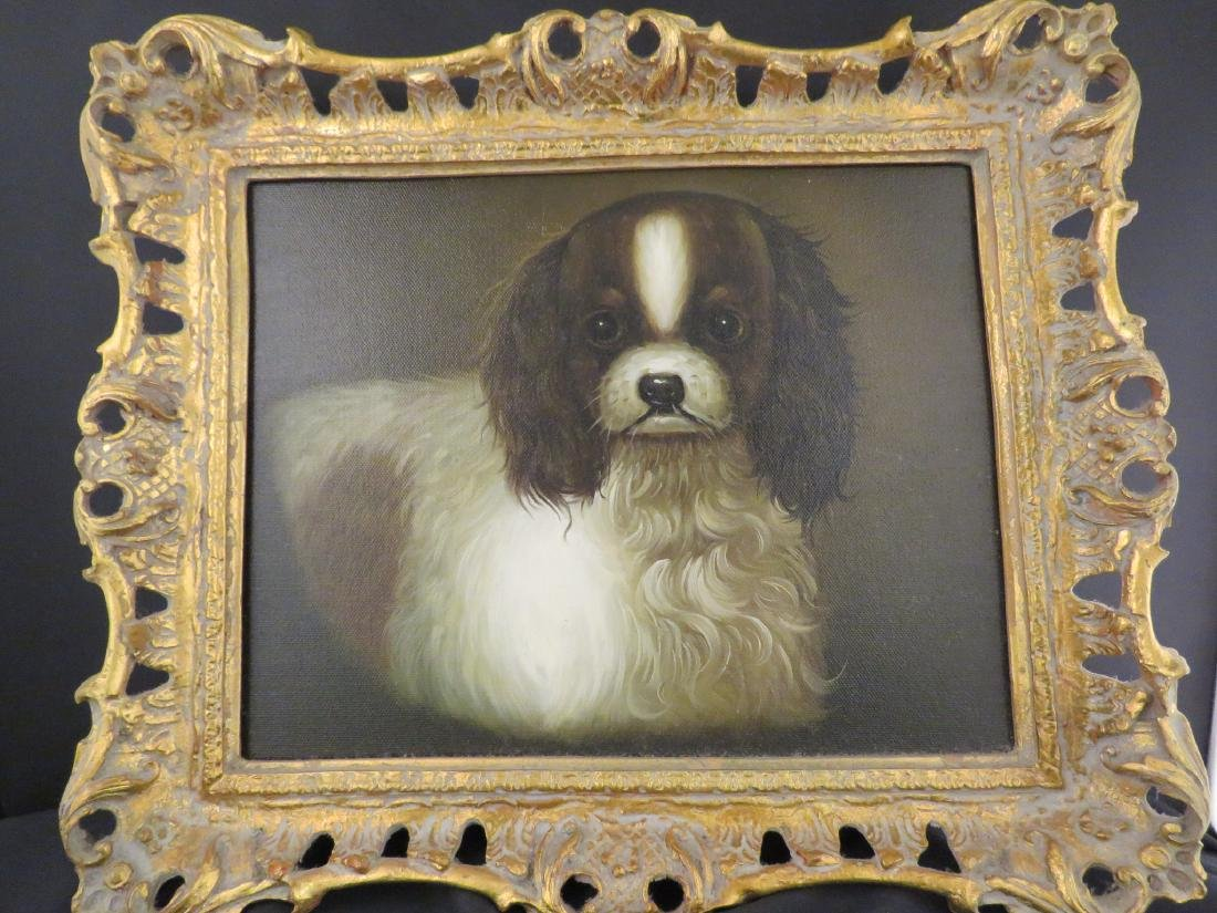 PAINTING AFTER JOHN EMMS: CAVALIER SPANIEL
