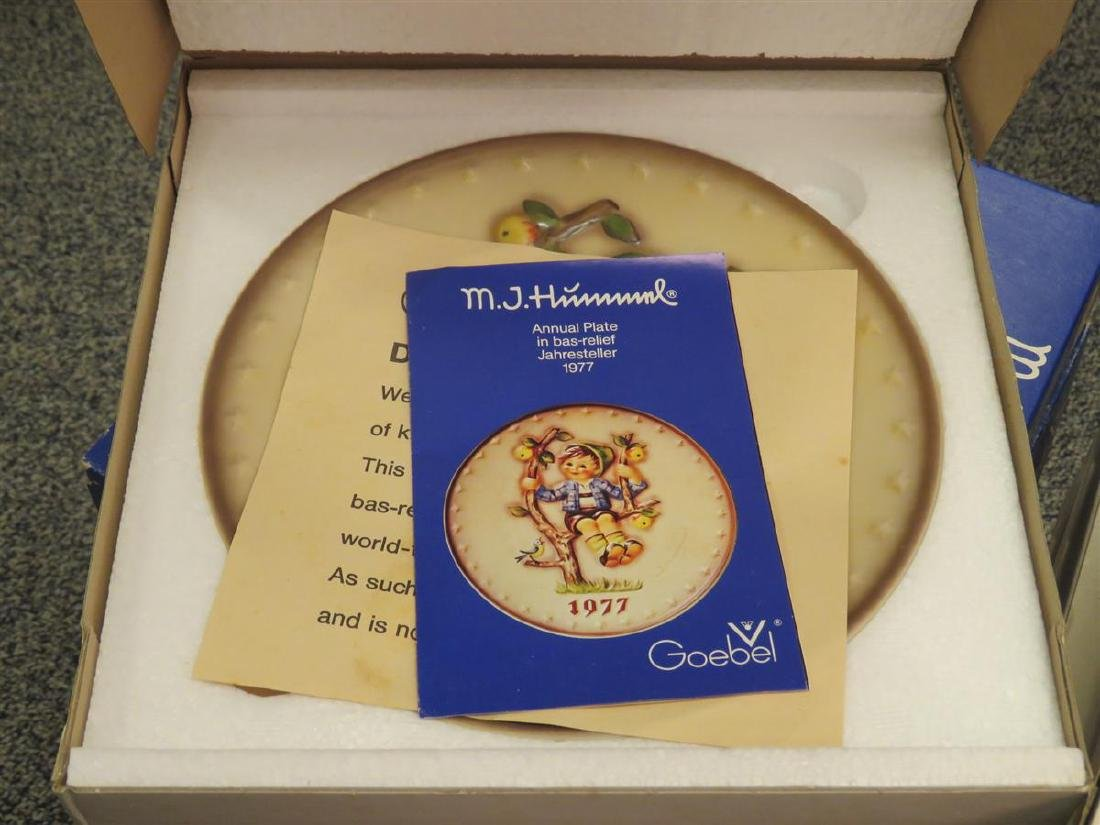 FIFTY-TWO ASSORTED GOEBEL HUMMEL PLATES - 8