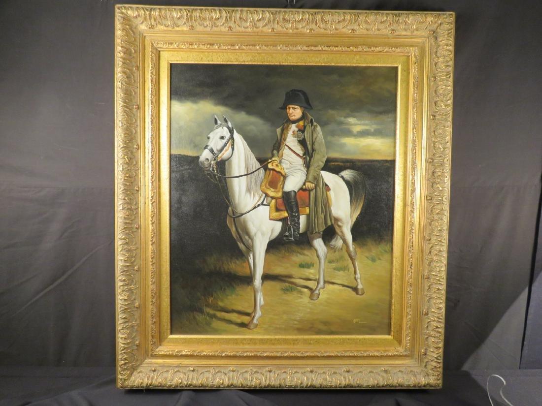 PORTRAIT OF NAPOLEON ON HORSEBACK