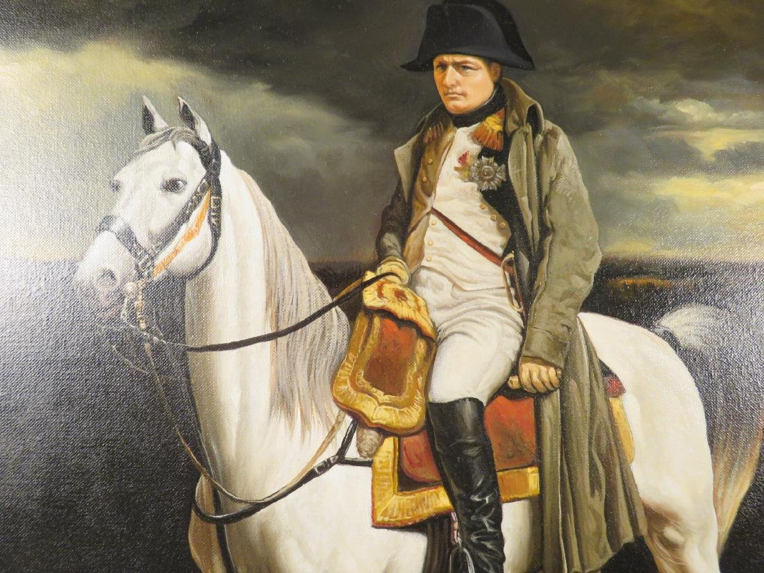 PORTRAIT OF NAPOLEON ON HORSEBACK - 2