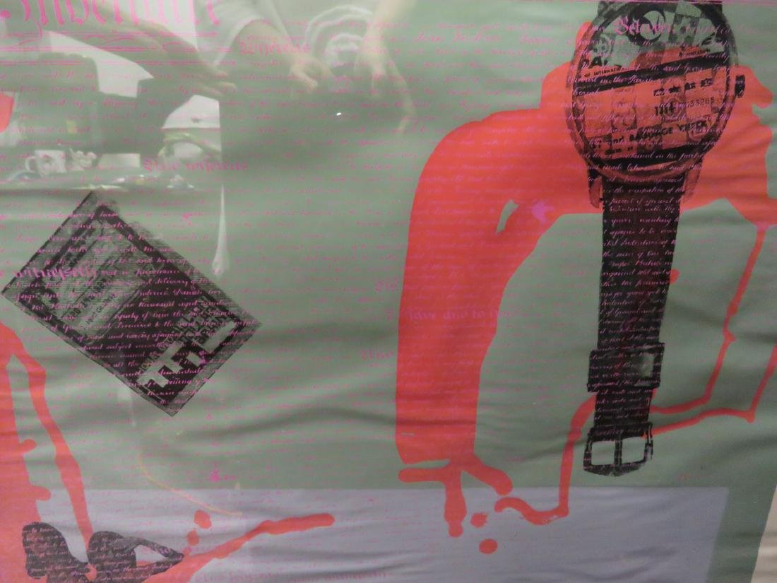 VINTAGE MODERN POP ART SERIGRAPH