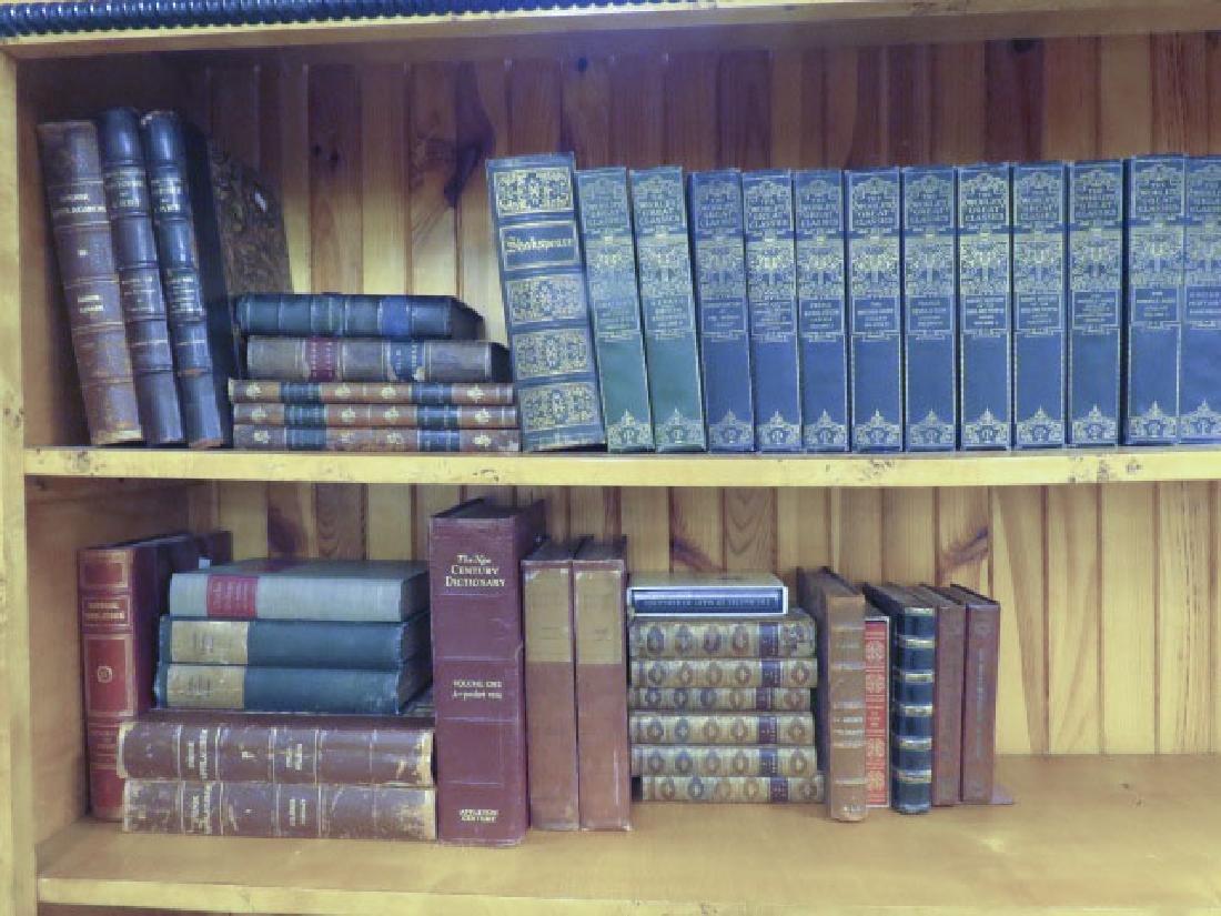 ASSORTED ANTIQUE & VINTAGE BOOKS