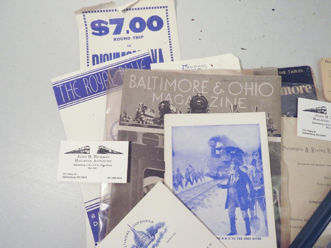 BALTIMORE & OHIO RAILROAD EPHEMERA, STOCKHOLDERS, - 5