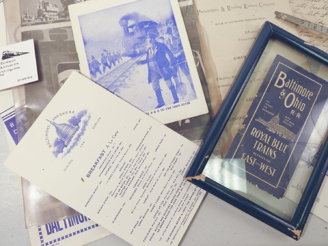 BALTIMORE & OHIO RAILROAD EPHEMERA, STOCKHOLDERS, - 6