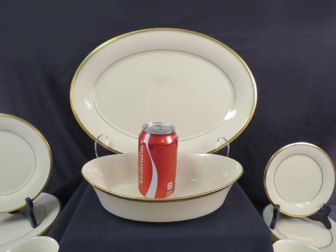 LENOX CHINA DINNER SERVICE FOR 12: ETERNAL - 2