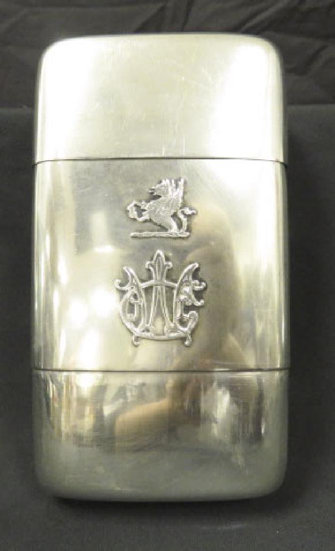 ANTIQUE TIFFANY & CO STERLING SILVER FLASK