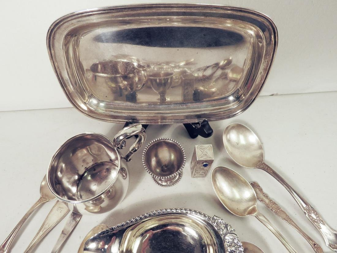 ASSORTED STERLING SILVER TABLEWARES - 2