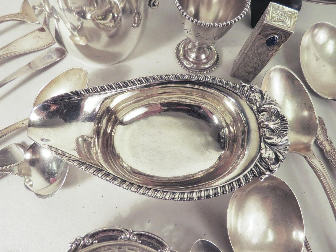 ASSORTED STERLING SILVER TABLEWARES - 3