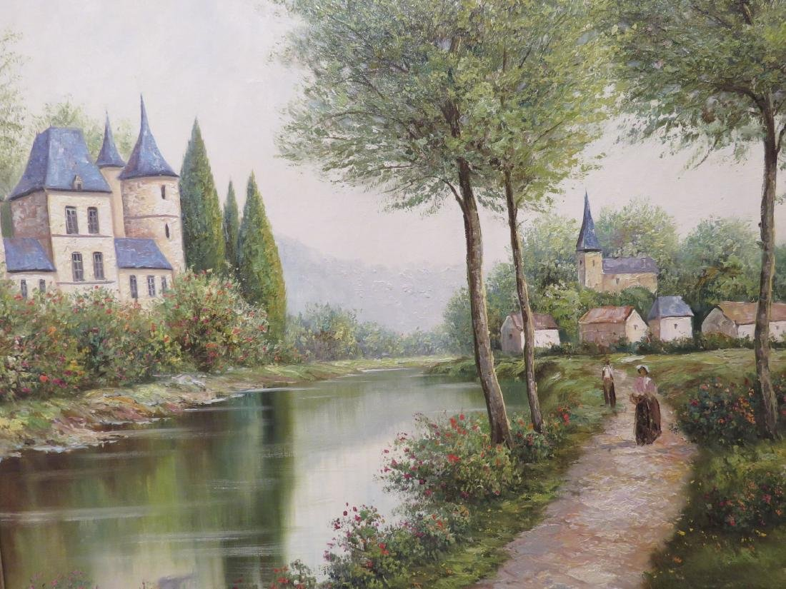 LANDSCAPE PAINTING BY RAUSCHER - 2