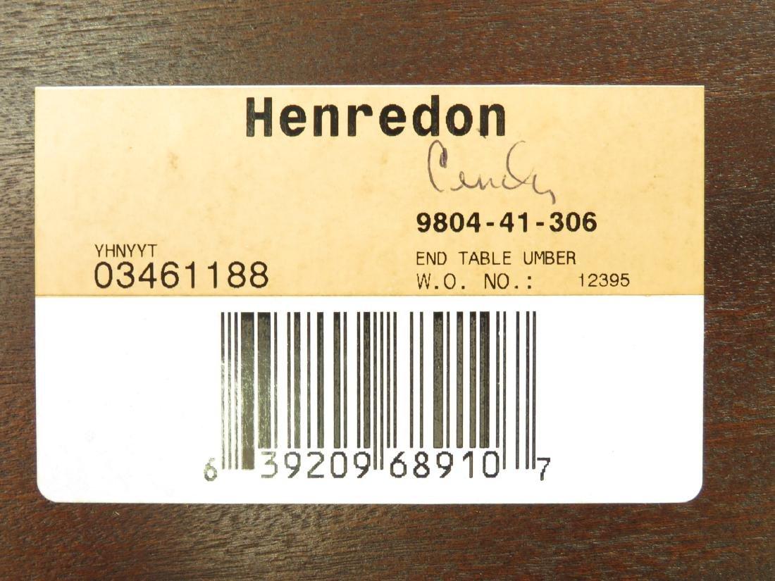 HENREDON REGENCY STYLE TWO TIER SIDE TABLE - 6