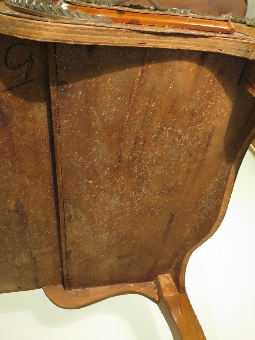 FRENCH LOUIS XV STYLE LEATHER TOP DESK - 8