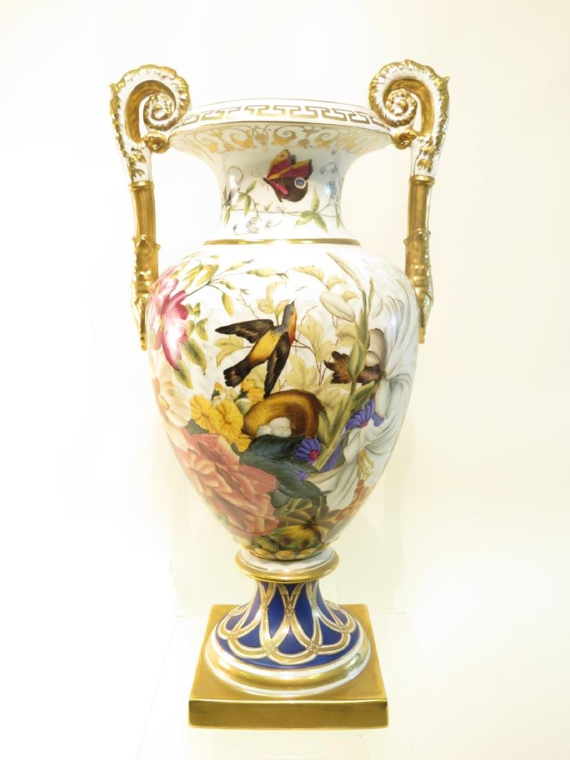CHELSEA HOUSE PAINTED PORCELAIN URN