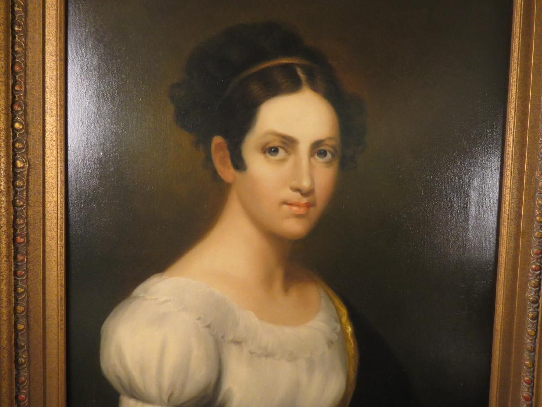 PORTRAIT OF A LADY SIGNED E. BECCARIA - 2