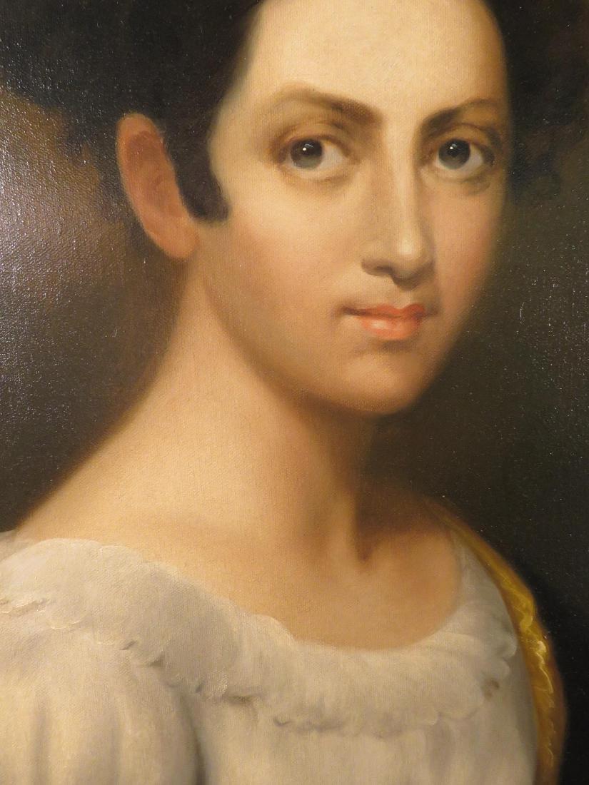 PORTRAIT OF A LADY SIGNED E. BECCARIA - 4