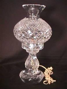 WATERFORD CUT CRYSTAL BOUDOIR LAMP