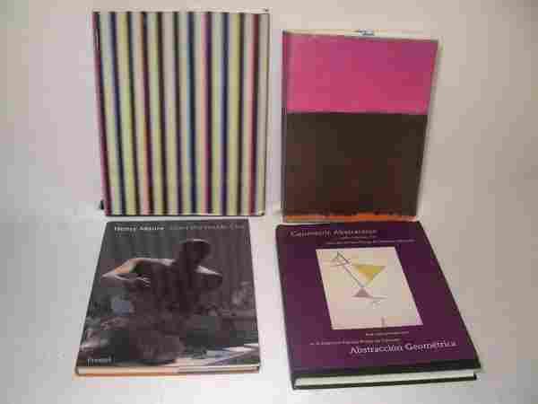 200: FOUR MODERN ART REFERENCE BOOKS ROTHKO MOORE ETC