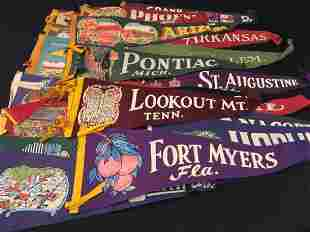 COLLECTION VINTAGE STATE CAPITAL AND OTHER PENNANT