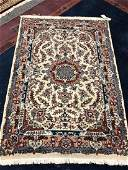 """MEDIUM PERSIAN HAND KNOTTED WOOL RUG 4'7"""" X 6'8"""""""