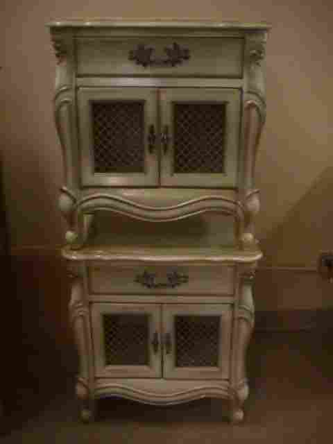 PR FRENCH PROVINCIAL NIGHT STANDS MODERNAGE
