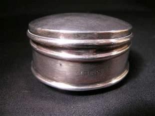 STERLING SILVER 19TH CENTURY SNUFF BOX