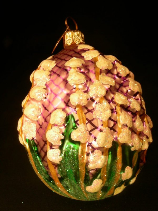17: CHRISTOPHER RADKO ORNAMENT LILY OF VALLEY