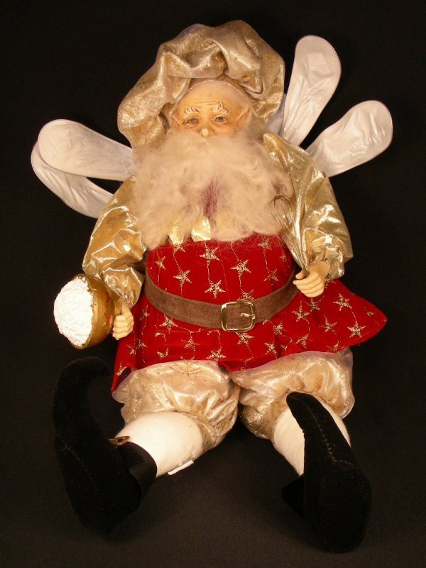 172: LARGE MARK ROBERTS FAIRY FLEMISH COLLECTION CHEF