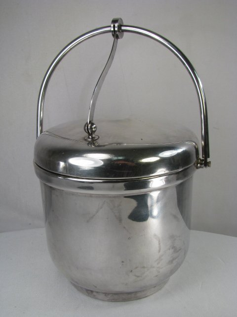 252: SHEFFIELD SILVER PLATED ICE BUCKET