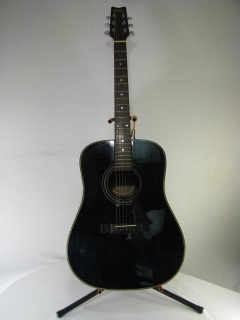 washburn acoustic guitar model d 10m tbl