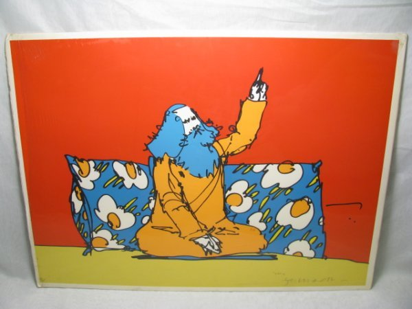 829: THREE ORIGINAL PETER MAX SERIGRAPHS