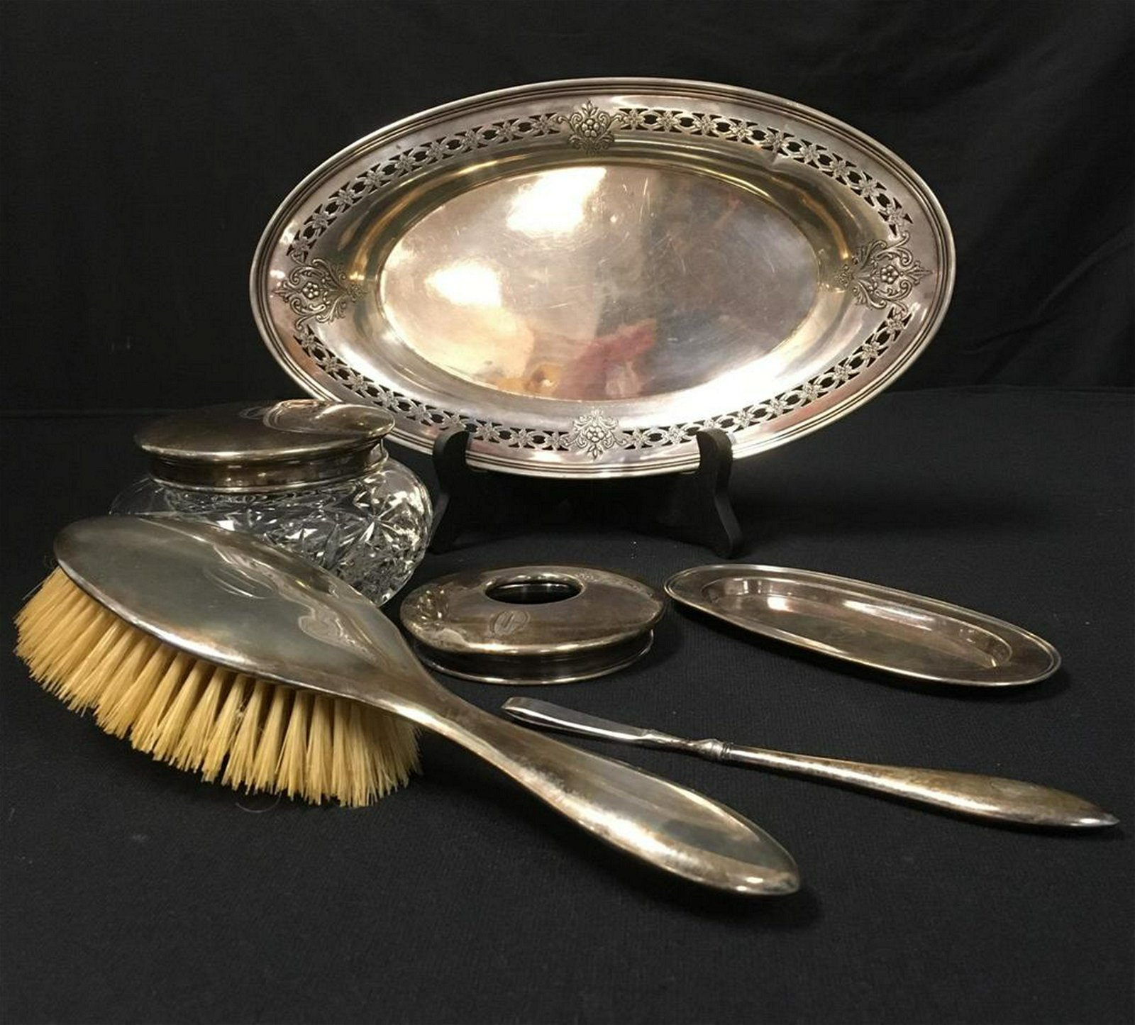 ASSORTED STERLING SILVER ACCESSORIES