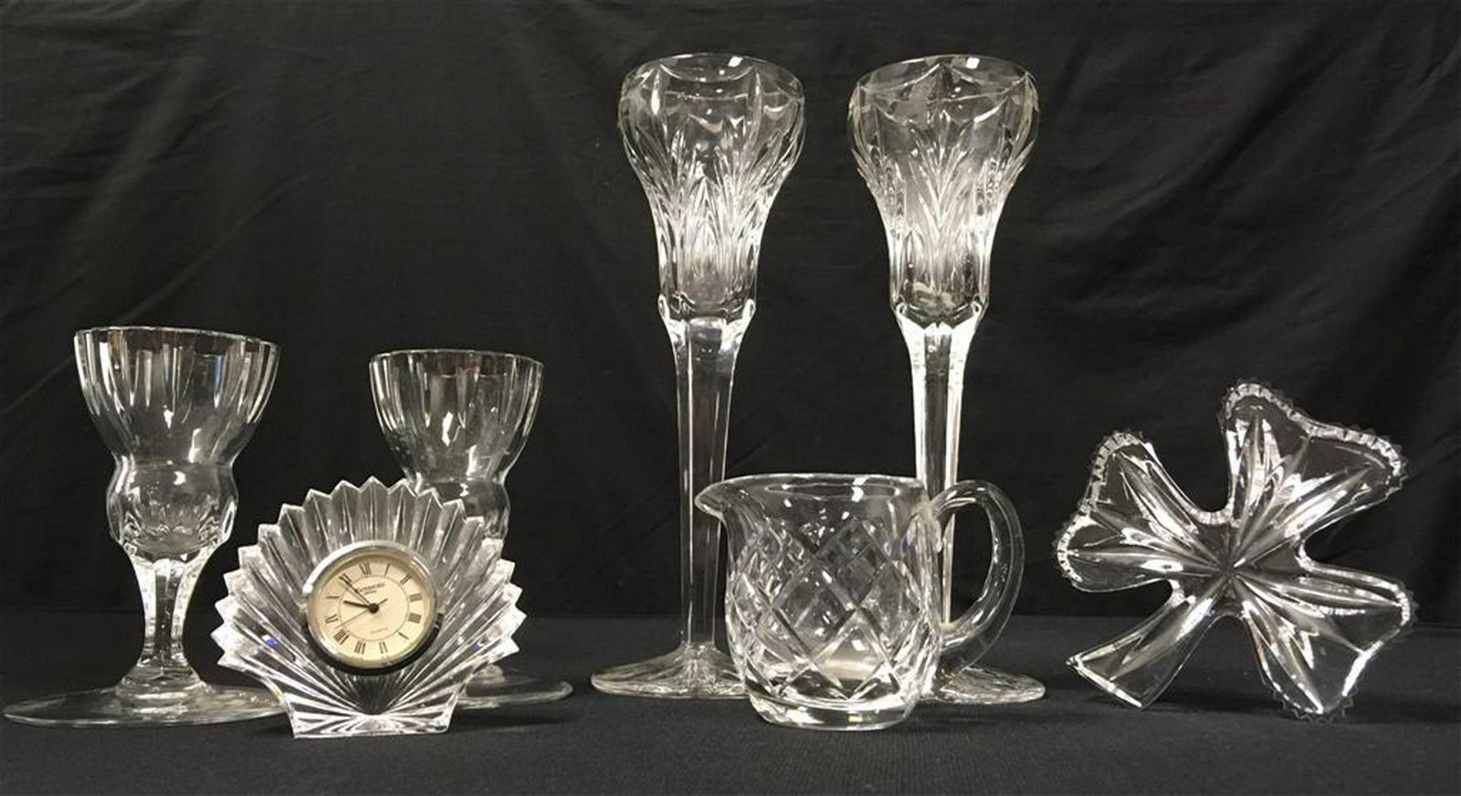WATERFORD CRYSTAL: 7 PCS