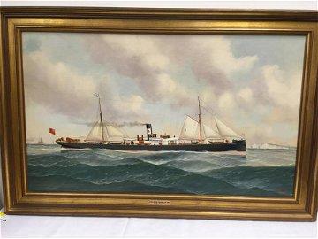 JOHN HENRY MOHRMANN, 1894: THE S.S. ENDEAVOUR