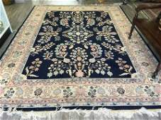 LARGE PERSIAN HAND KNOTTED RUG 9