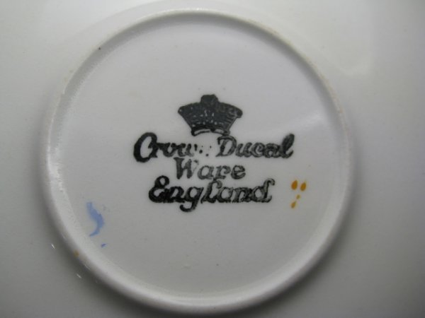 23: CROWN DUCAL WARE CHINA REGD # 72944 49 PIECES - 10