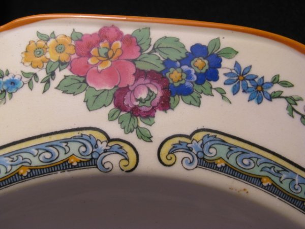 23: CROWN DUCAL WARE CHINA REGD # 72944 49 PIECES - 6
