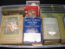 1001 GROUP OF  ANTIQUE  VINTAGE CHILDREN BOOKS