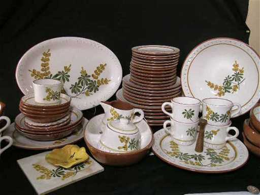 dating stangl pottery
