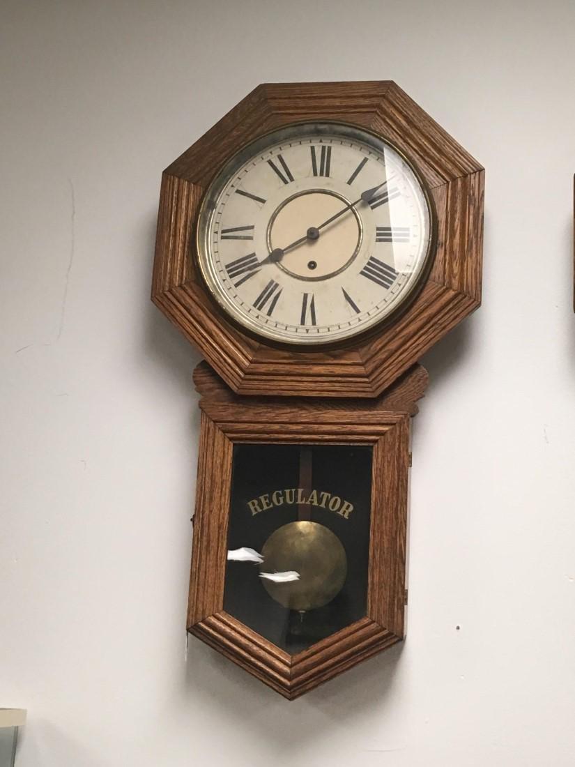 SESSIONS LONGDROP SCHOOLHOUSE CLOCK