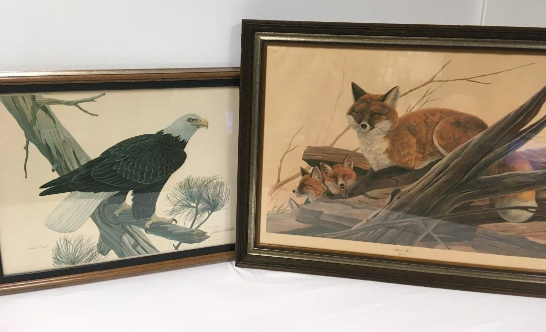 TWO JOHN A. RUTHVEN HAND SIGNED LITHOGRAPHS